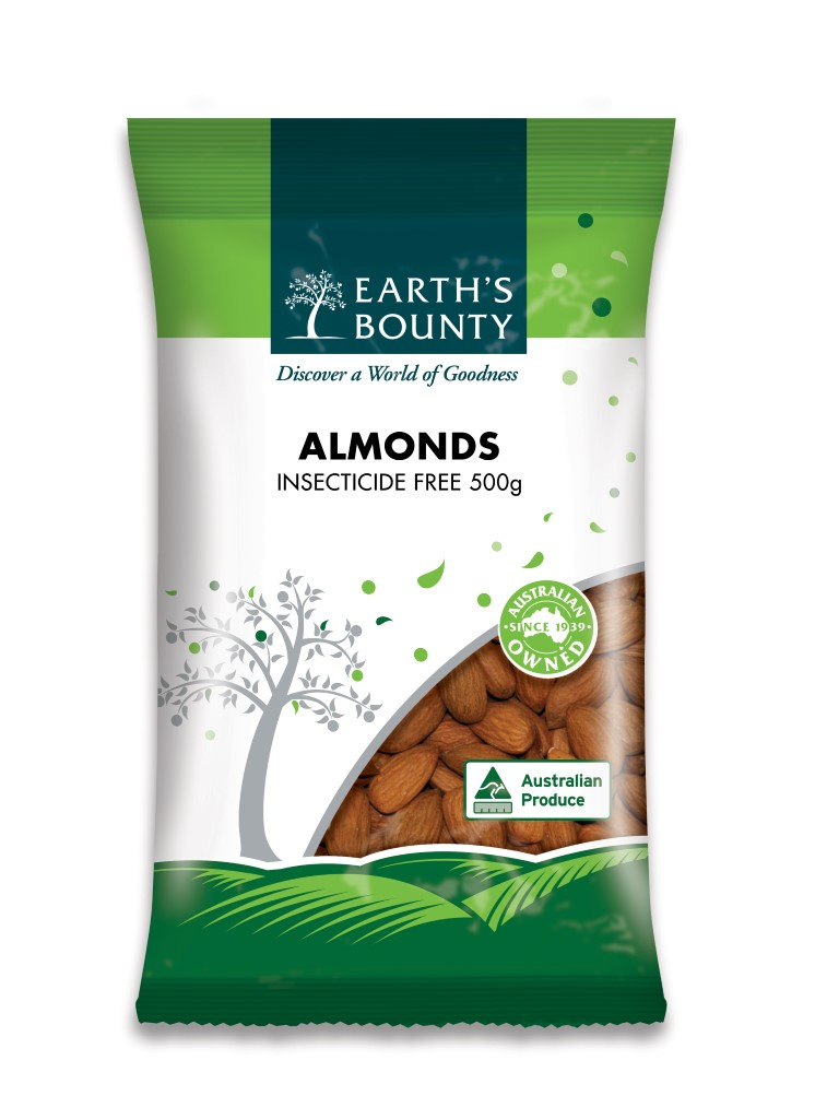 Almonds Natural Insecticide Free