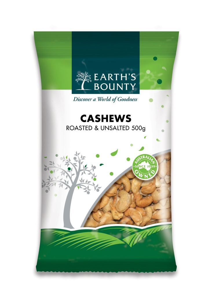 Cashews Roasted & Unsalted