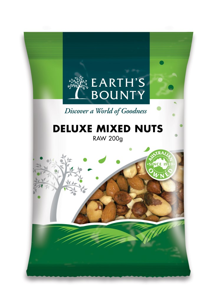 Deluxe Raw Mixed Nuts