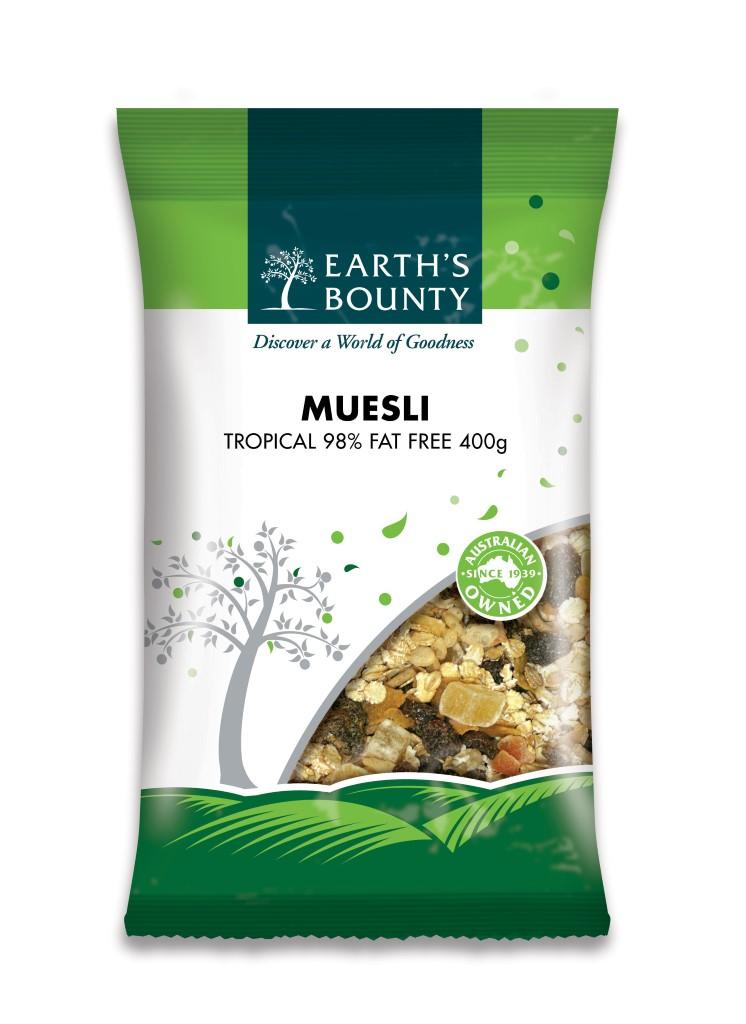 98% Fat Free Tropical Muesli