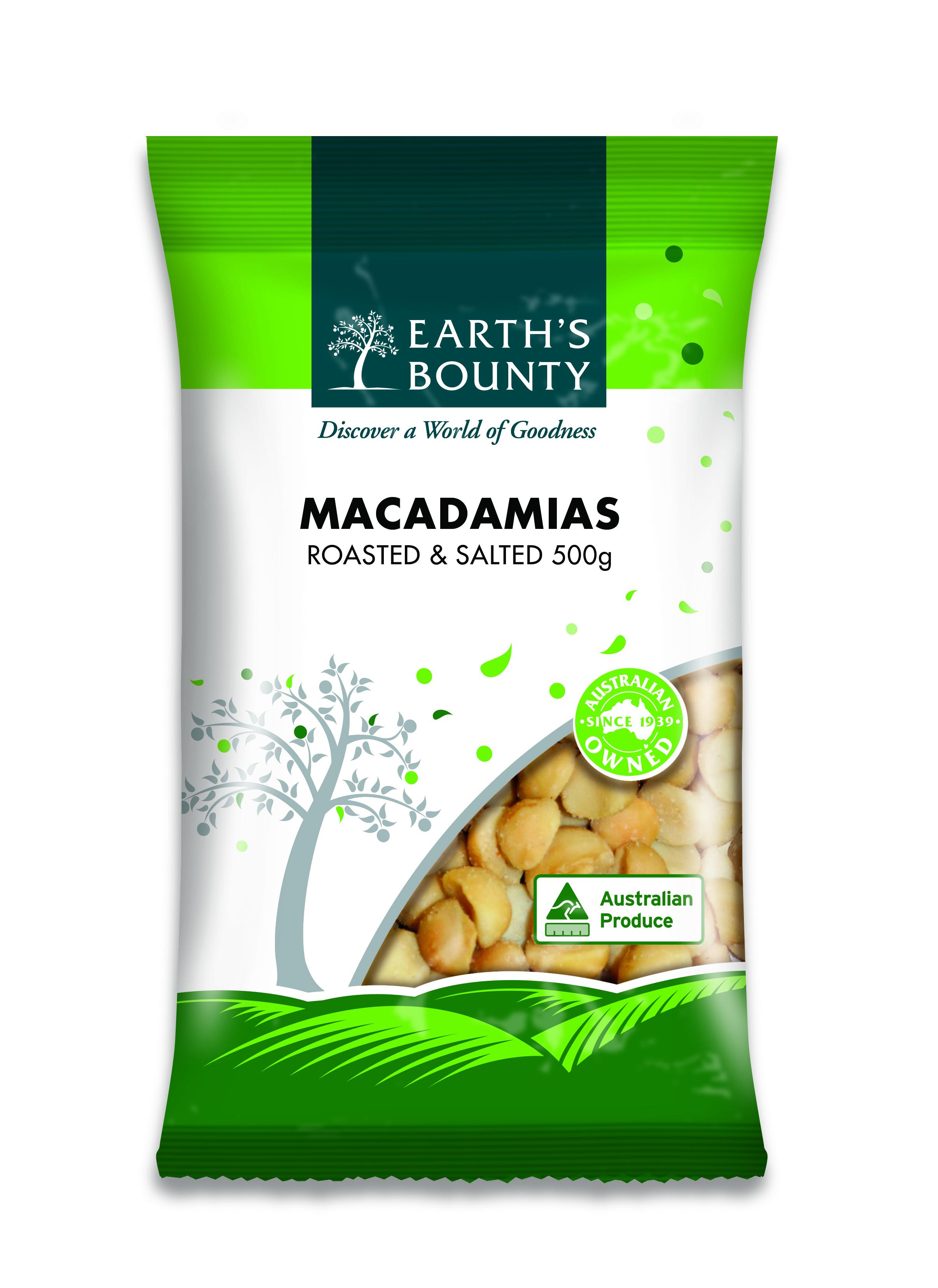Macadamias Roasted & Salted
